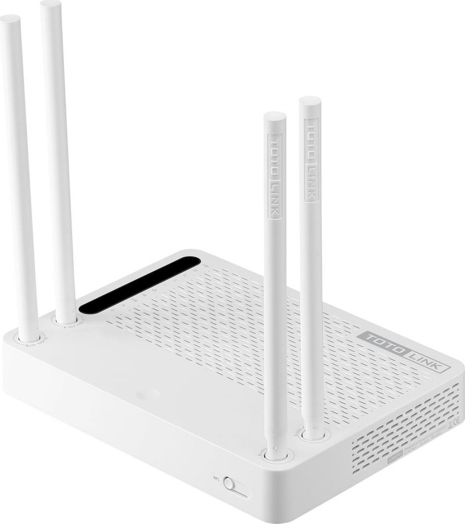 Router TOTOLINK TOTOLINK A3002R 1167Mbps 2.4/5GHz 802.11ac Wireless Gigabit Router, USB 2.0 - A3002RU 1
