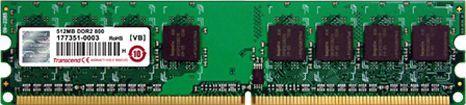 Pamięć Transcend DDR2, 1 GB, 667MHz, CL5 (TS128MLQ64V6J) 1