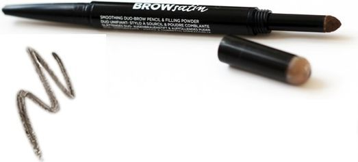 Maybelline  Kredka do brwi Brow Satin Duo Pencil Dark Brown 7.6ml 1