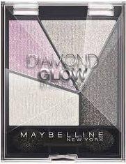 Maybelline  MAYBELLINE_Eye Studio Diamond Glow poczwórne cienie do powiek 04 Grey Pink Drama 1