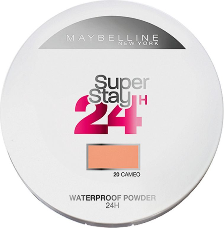 Maybelline  Super Stay 24 Longwear Matte Powder Waterproof puder matujący 20 Cameo 9g 1