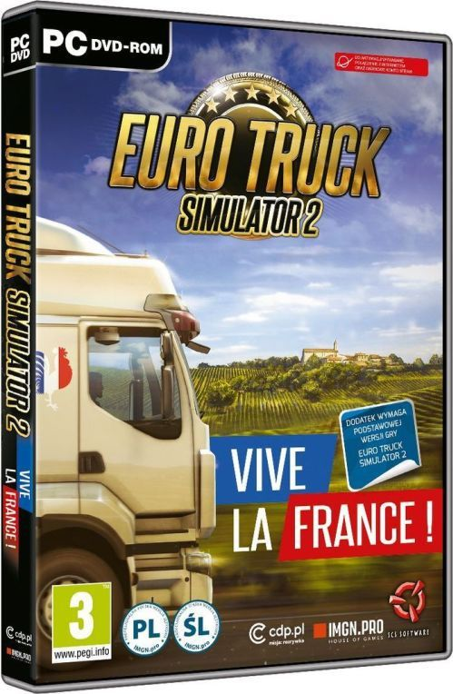 Euro Truck Simulator 2 – Vive la France! PC 1