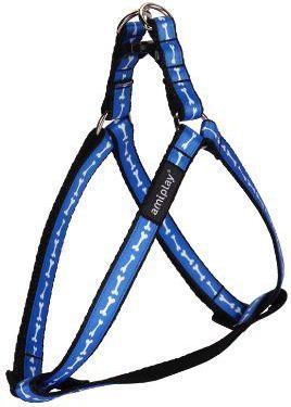 Ami Play Szelki regulowane Joy M 30-55 [c, d] x 1,5cm Niebieskie kości 1