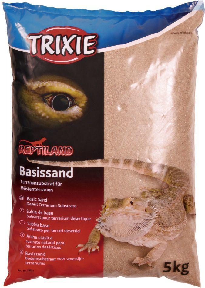 Trixie Piasek podstawowy do terrariów pustynnych 5 kg żółty 1