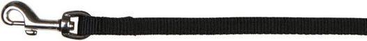 Trixie Smycz Premium podwójna - Czarna 1.2 cm XS 1