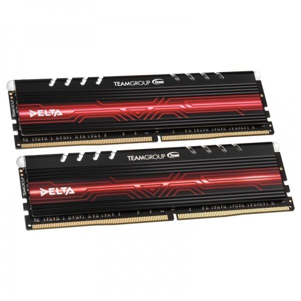 Pamięć Team Group Delta, DDR4, 32 GB, 2400MHz, CL15 (TDTRD432G2400HC15BDC01) 1
