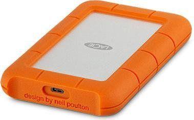 Dysk zewnętrzny LaCie HDD Rugged 4 TB Pomarańczowy (STFR4000800) 1