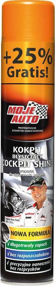 Moje Auto PREPARAT DO CZYSZCZENIA KOKPITU BLACK 600 ML + 25% GRATIS MOJE AUTO 19-113 1