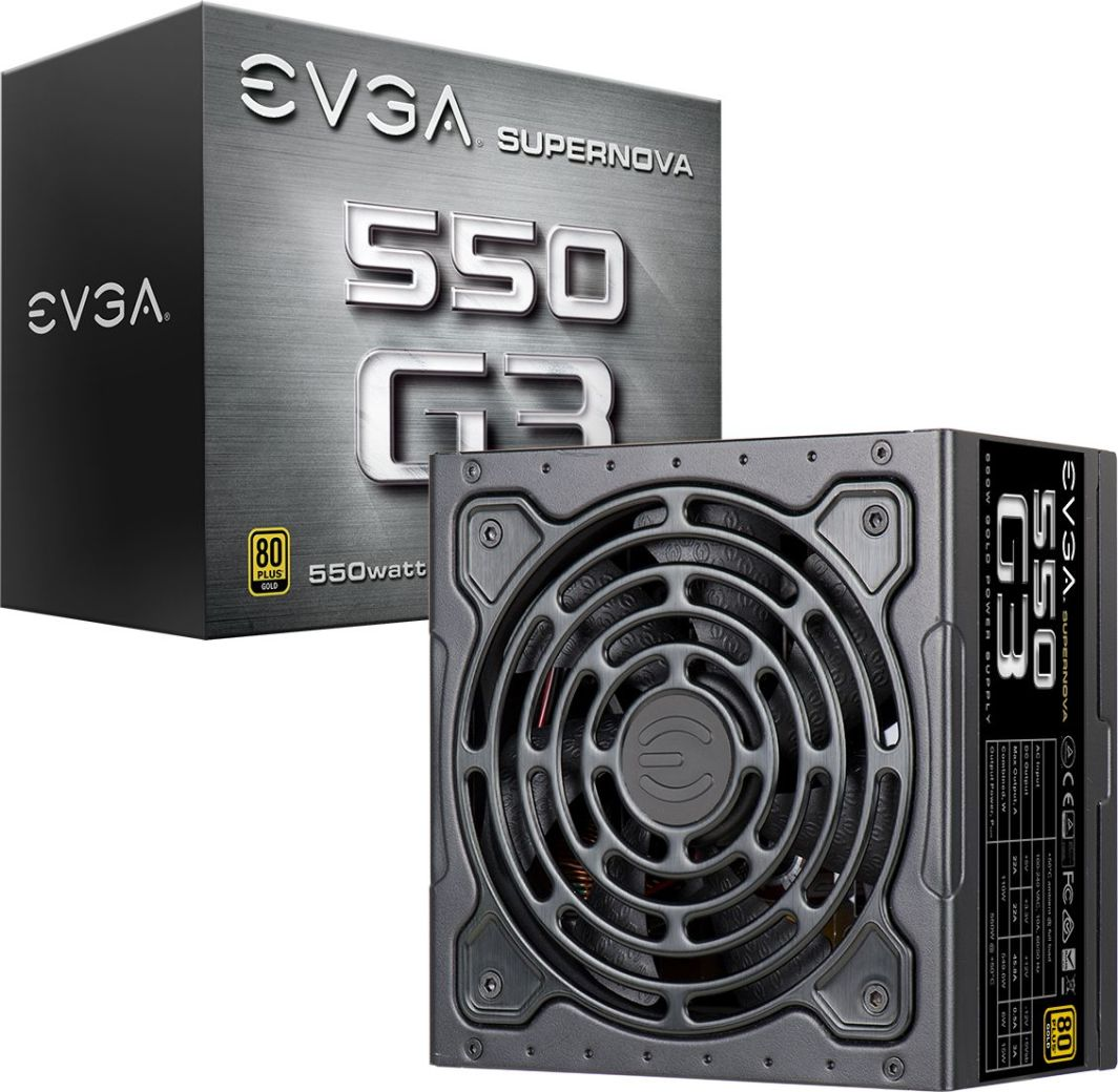Zasilacz EVGA SuperNOVA G3 550W (220-G3-0550-Y1) 1