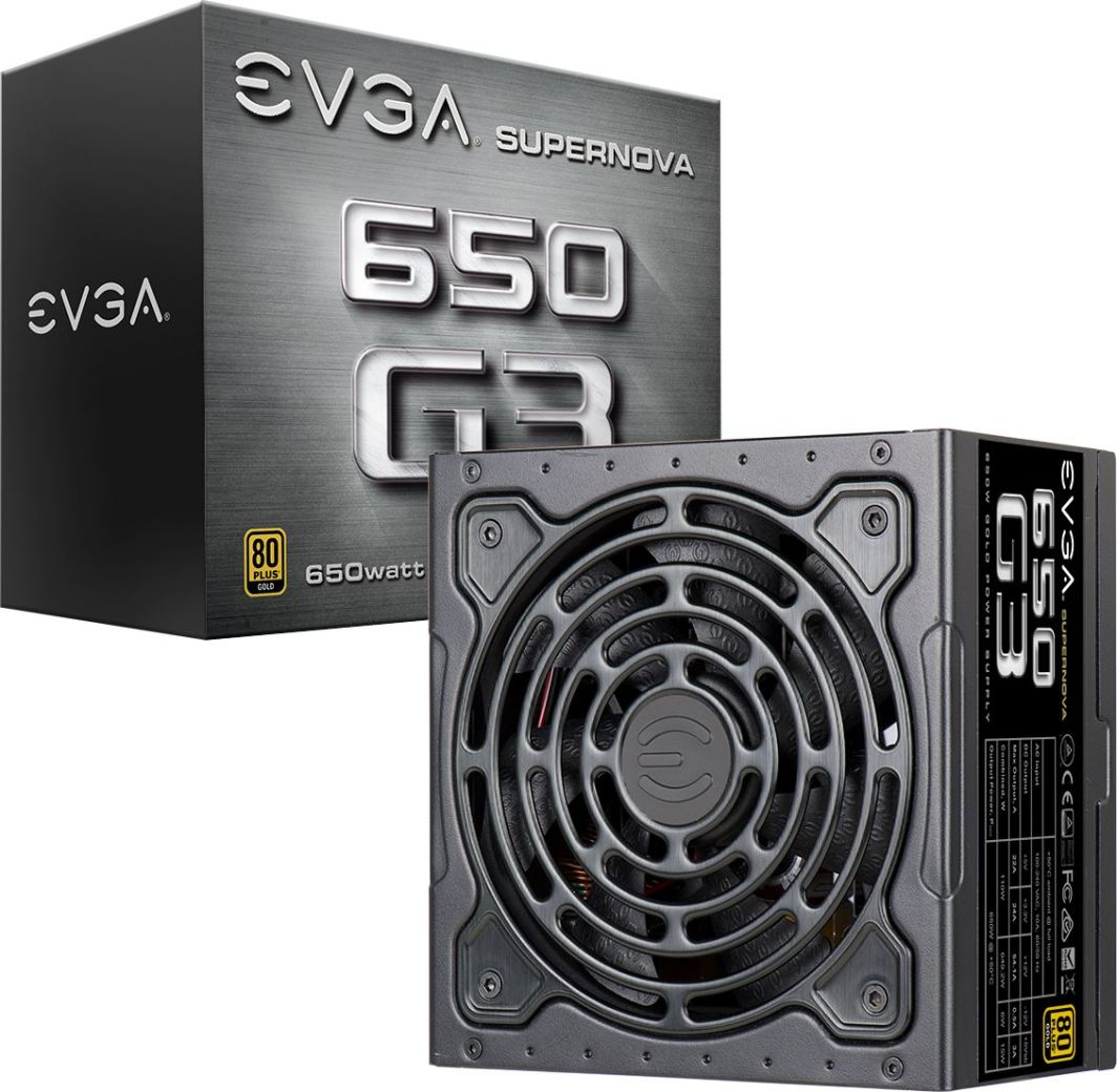 Zasilacz EVGA SuperNOVA G3 650W (220-G3-0650-Y1) 1