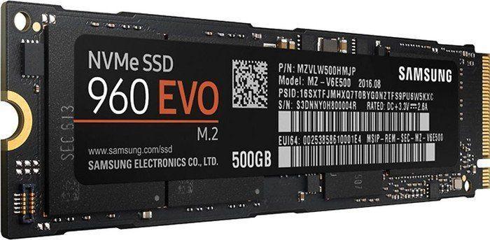 Dysk SSD Samsung 500 GB M.2 2280 PCI-E x4 Gen3 NVMe (MZ-V6E500BW) 1