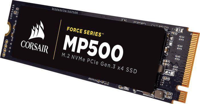 Dysk SSD Corsair MP500 480 GB M.2 2280 PCI-E x4 Gen3 NVMe (CSSD-F480GBMP500) 1