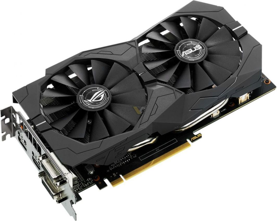 Karta graficzna Asus ROG Strix GeForce GTX 1050 Gaming OC 2GB GDDR5 (STRIX-GTX1050-O2G-GAMING) 1