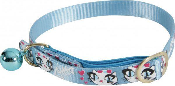 Zolux Obroża nylonowa dla kota LadyCat niebieski 1