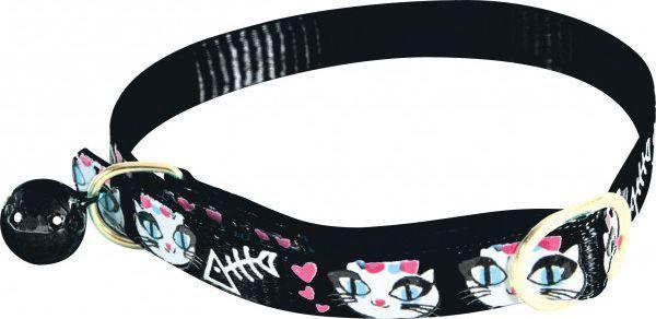 Zolux Obroża nylonowa dla kota LadyCat czarny 1