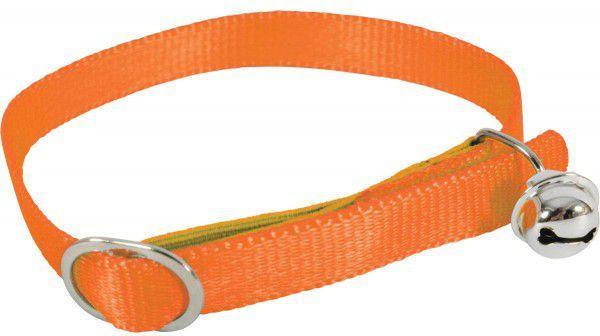 Zolux Obroża dla kota nylon pomarańczowy 1