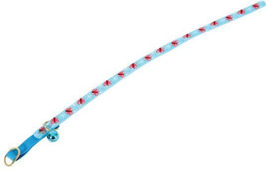 Zolux Obroża nylonowa dla kota Butterfly niebieski 1