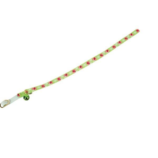Zolux Obroża nylonowa dla kota Butterfly zielony 1