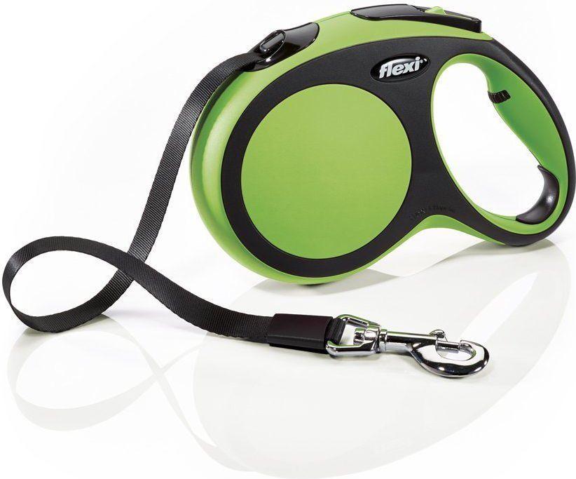Flexi New Comfort Smycz automatyczna L taśma 5m Zielona 1