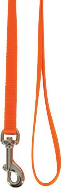 Zolux Smycz dla kota nylon 1 m/10 mm pomarańczowy 1