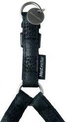 Zolux Szelki regulowane Mac Leather 15 mm - czarny 1