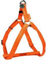 Zolux Szelki regulowane Mac Leather 15 mm - pomarańczowy 1