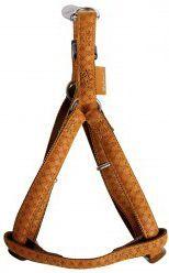 Zolux Szelki regulowane Mac Leather 10 mm - żółty 1