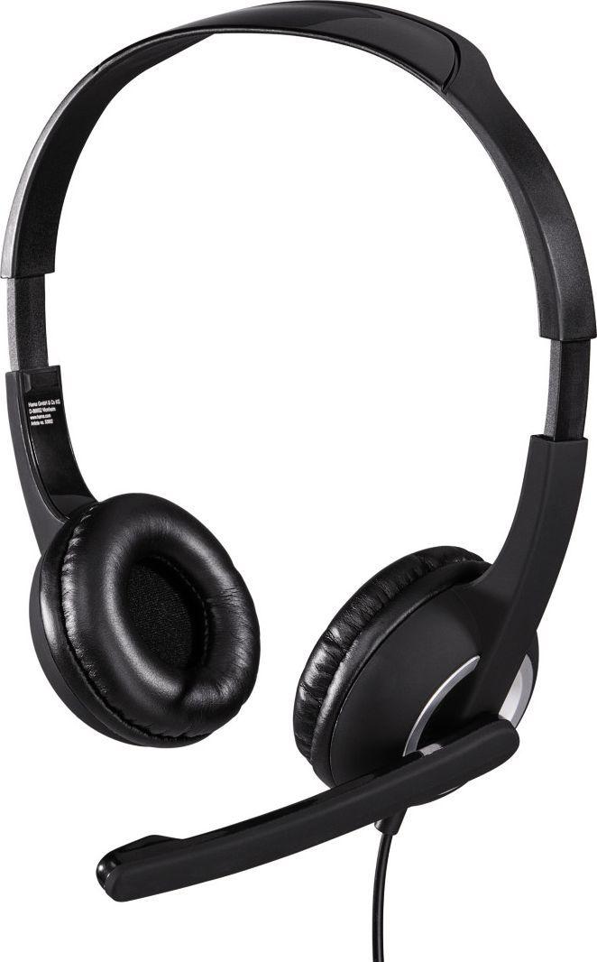 Słuchawki z mikrofonem Hama Essential HS 300 (0053982) 1