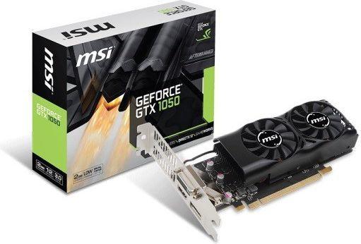 Karta graficzna MSI GeForce GTX 1050 Low Profile 2GB GDDR5 (GTX 1050 2GT LP) 1