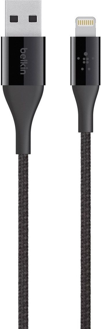Kabel USB Belkin USB A -> Lightning Czarny 1.2m (F8J207bt04-BLK) 1