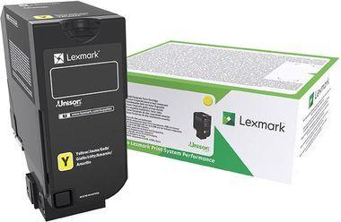 Lexmark Toner CX725, yellow (84C2HYE) 1