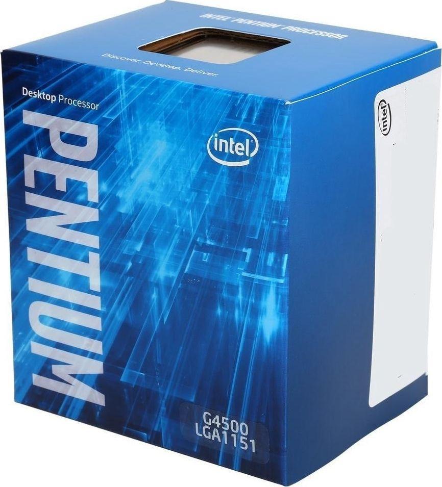 Procesor Intel Pentium G4600, 3.6GHz, 3 MB, BOX (BX80677G4600) 1