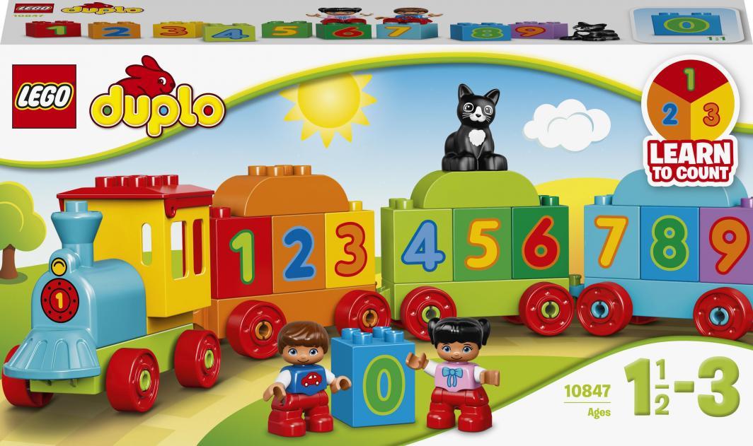 LEGO Duplo Pociąg z cyferkami (10847) 1