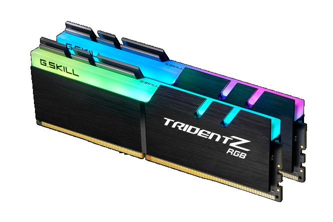 Pamięć G.Skill Trident Z RGB, DDR4, 16 GB, 3200MHz, CL14 (F4-3200C14D-16GTZR) 1