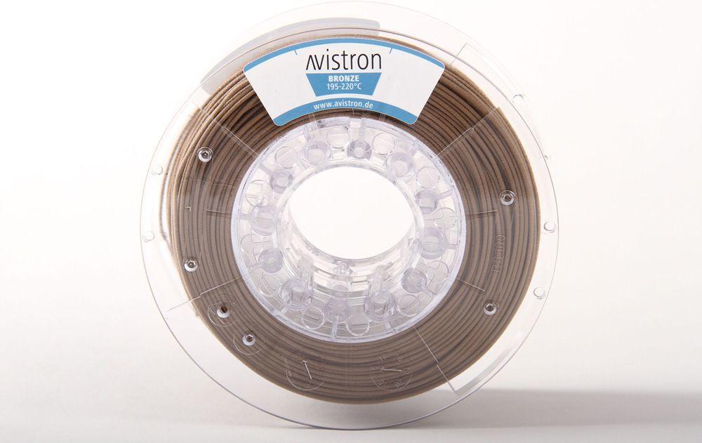 Avistron Filament PLA/Bronze 2,85mm 750g (AV-BRONZ285-MET) 1