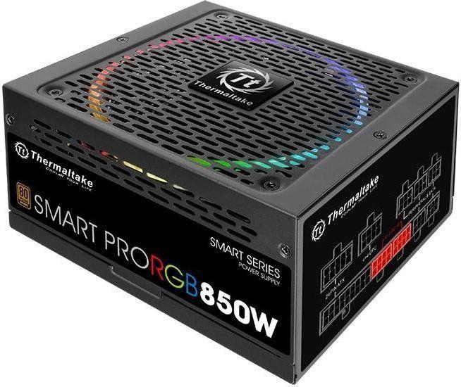 Zasilacz Thermaltake Smart Pro RGB 850W (PS-SPR-0850FPCBEU-R) 1