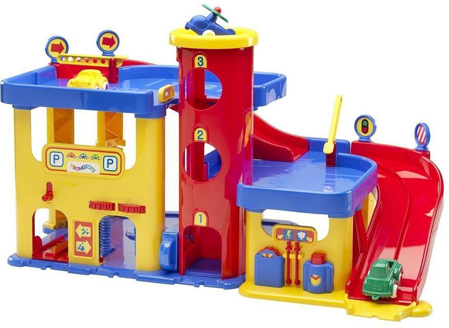 Chłodny Viking Toys City garaż-parking 2-piętrowy (45-5501) w Hulahop.pl CR47