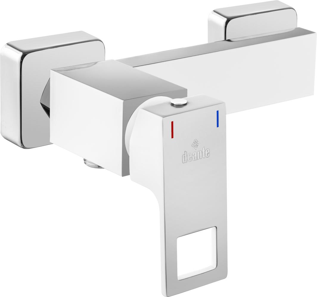 Bateria prysznicowa Deante Anemon biały (BCZ W400) 1