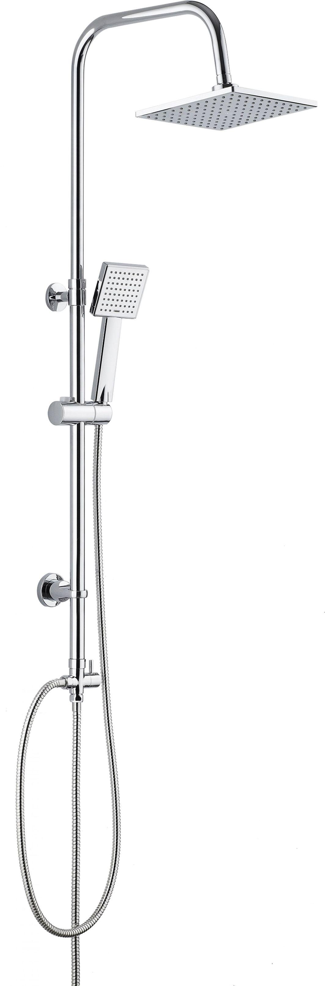 Zestaw prysznicowy Deante Floks z deszczownicą z baterią chrom (NAC 01FK) 1