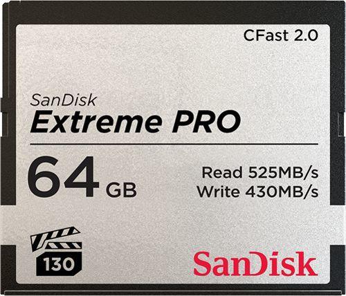 Karta SanDisk Extreme Pro CFast 64 GB  (SDCFSP-064G-G46D) 1