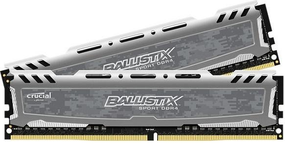 Pamięć Ballistix Ballistix Sport LT, DDR4, 16 GB, 2666MHz, CL16 (BLS2C8G4D26BFSB) 1