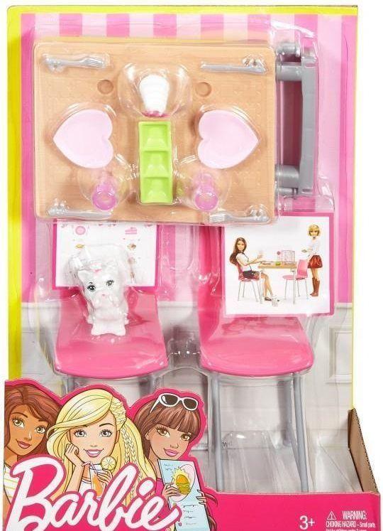 Mattel Barbie Mebelki I Akcesoria Jadalnia 227596 W Hulahop Pl