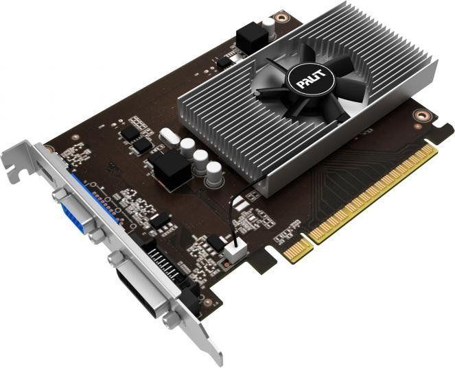 Karta graficzna Palit GeForce GT730 KalmX 4GB GDDR5 (64 bit) D-Sub, mHDMI, DVI (NE5T730013G6H) 1