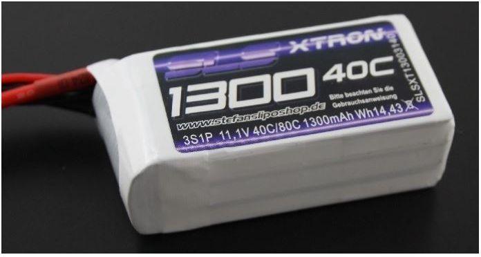 SLS 1300mAh 11.1V 40/80C SLS XTRON (SLSXT13003140) 1