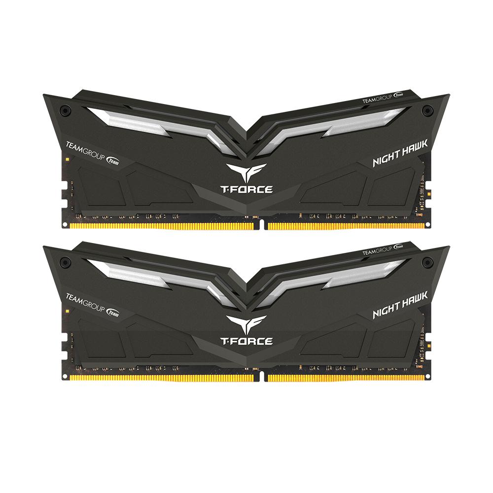 Pamięć Team Group Night Hawk, DDR4, 16 GB, 3000MHz, CL16 (THRD416G3000HC16CDC01) 1