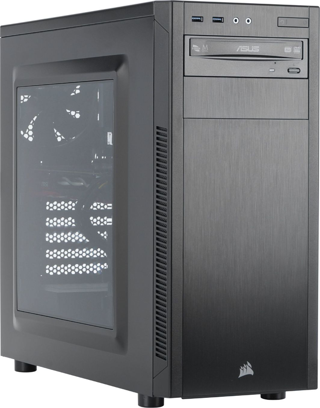 Komputer Elite Core i5-7500, 8 GB, GTX 1060, 128 GB SSD 1 TB HDD  1