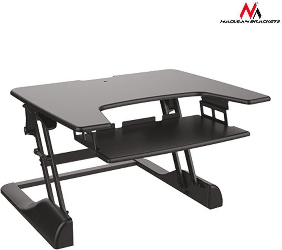 Maclean Stolik Pod Laptopa Z Możliwością Regulacji Przenośny Mc
