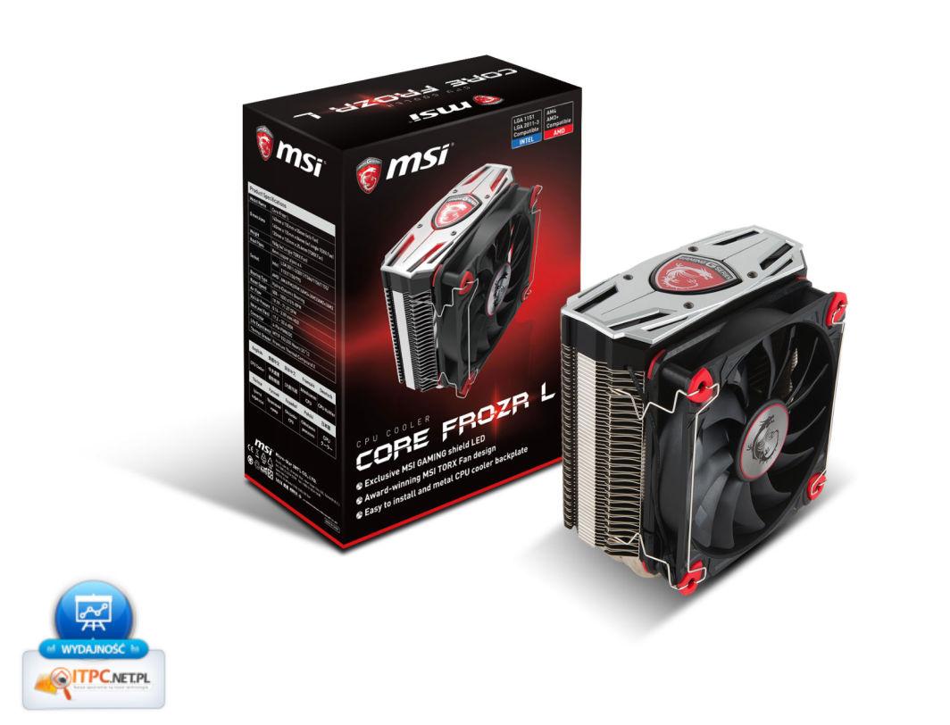 Chłodzenie CPU MSI Core Frozr L (E32-0801920-A87) 1