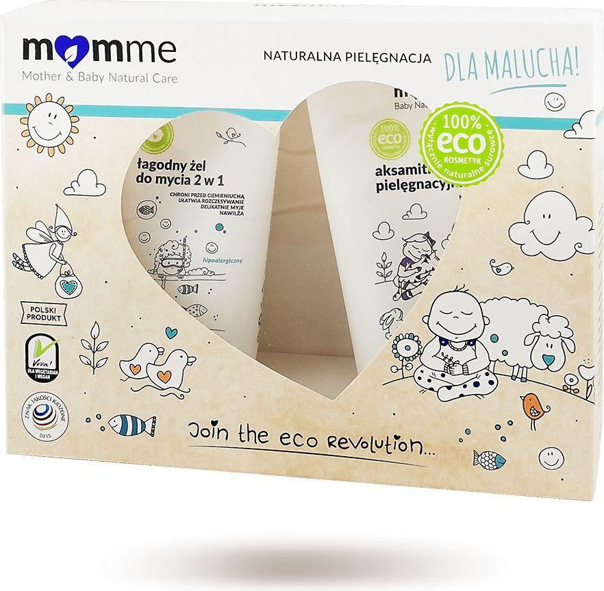 MomMe Mother&Baby Natural Care Zestaw do pielęgnacji noworodków 1