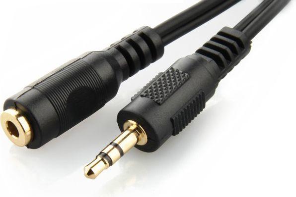 Kabel Gembird Jack 3.5mm - Jack 3.5mm 5m czarny (CCA-423-5M) 1